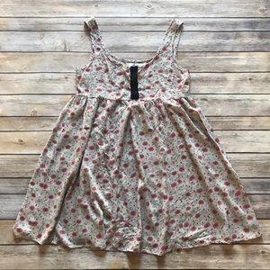 LF Millau Floral Rayon Tunic Top Size XS
